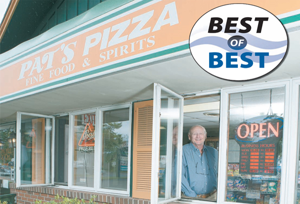 Pat's Pizza Wins Readers Choice Awards for 2011-2017 in Scarborough, Maine